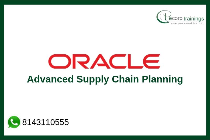 Oracle Advanced Supply Chain Planning Training