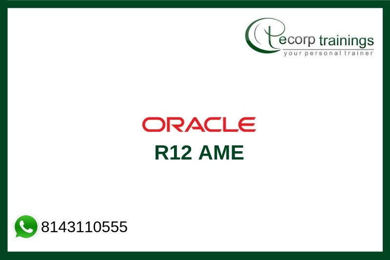 Oracle R12 AME Training