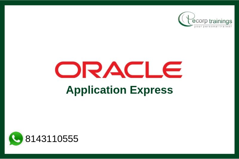 Oracle Application Express Training