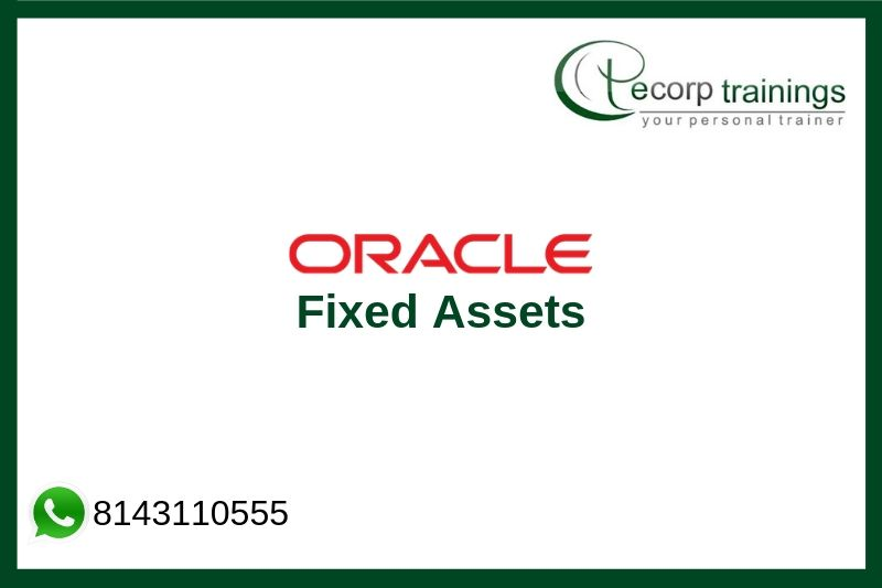 Oracle Fixed Assets Training