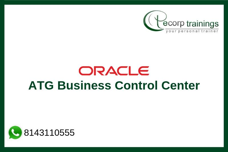 ATG Business Control Center Training