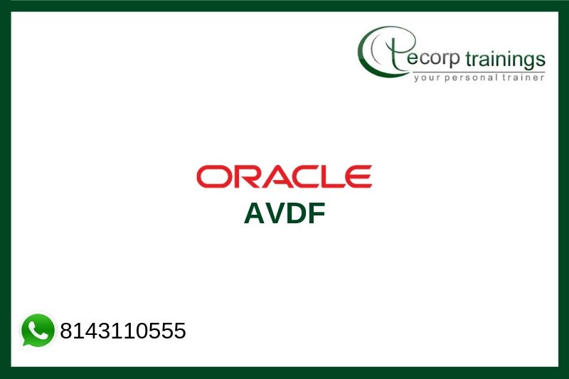 Oracle AVDF Training