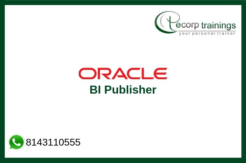 Oracle BI Publisher Training
