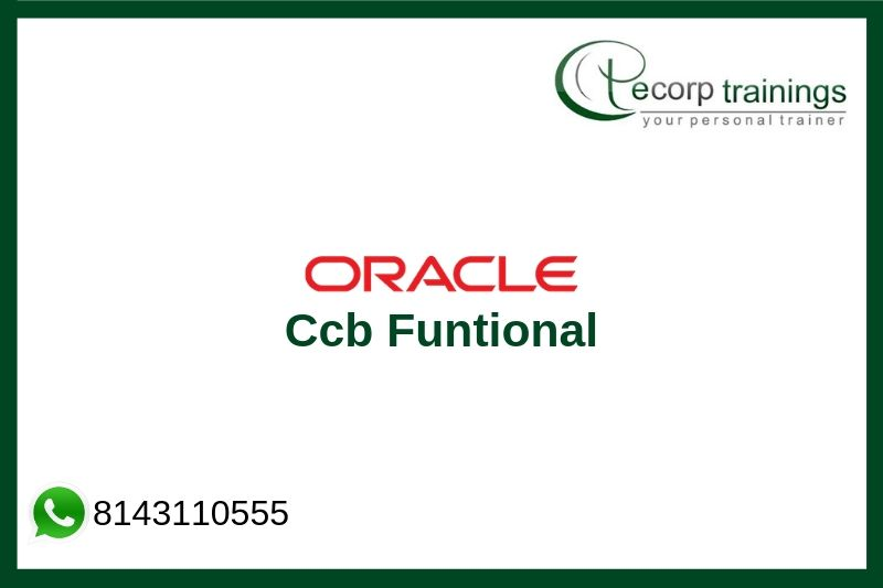 Oracle Ccb Funtional Training