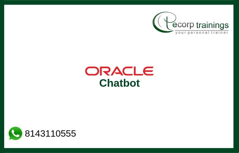 Oracle Chatbot Training Courses