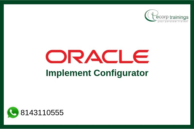 Oracle Implement Configurator Training