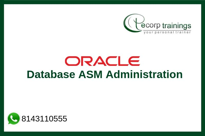 Oracle Database 12c ASM Administration Training