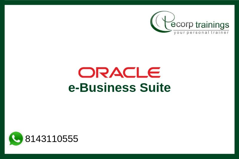 Oracle e-Business Suite Training