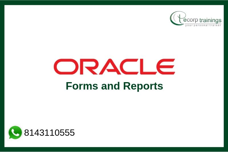 Oracle Forms and Reports Training