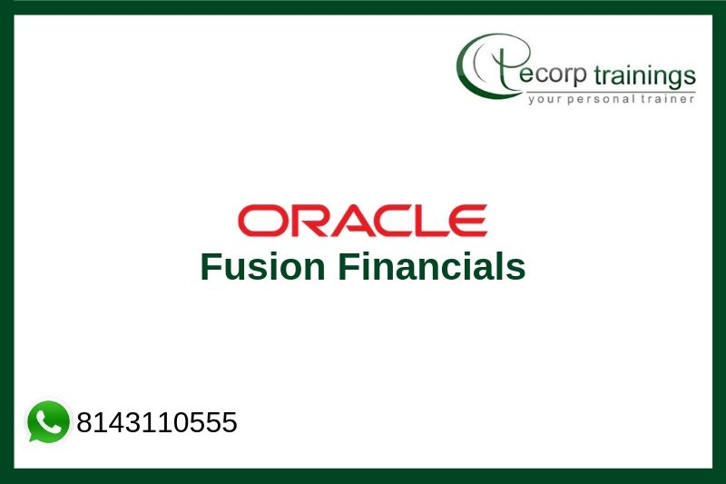 Oracle Fusion Financials Training