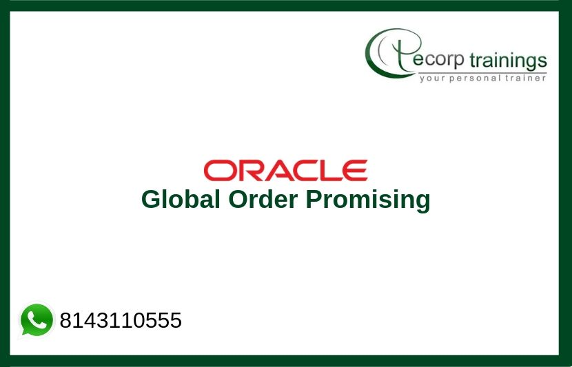 Oracle Global Order Promising Training