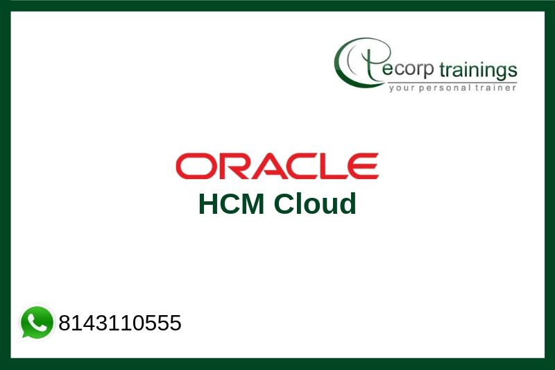 Oracle HCM Cloud Training