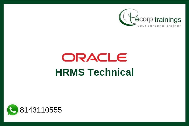 Oracle HRMS Technical Training