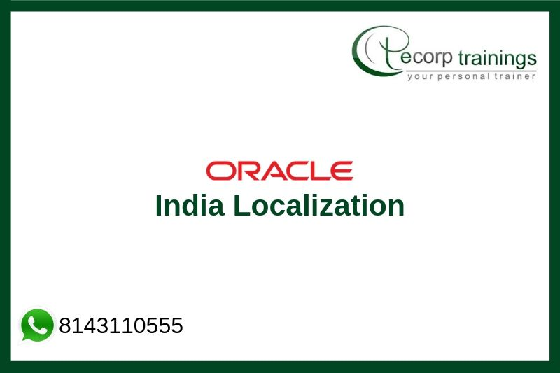 Oracle India Localization Training