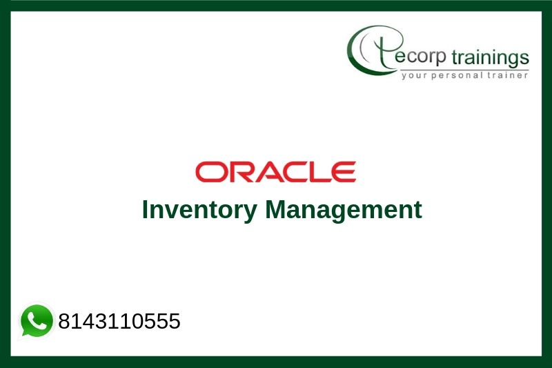 Oracle Inventory Management Training