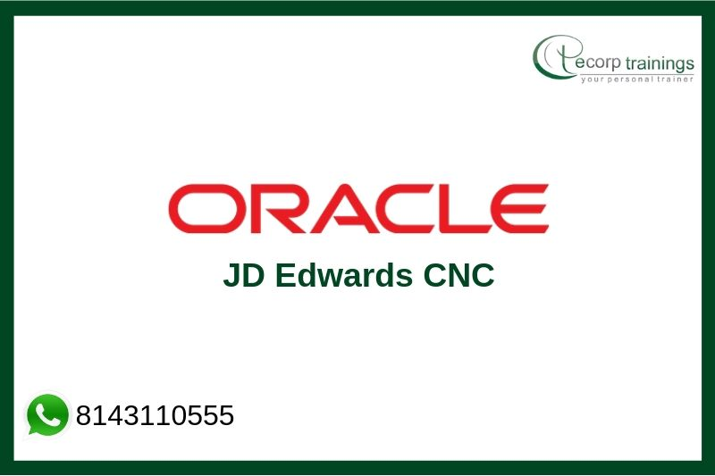 Oracle JD Edwards CNC Training