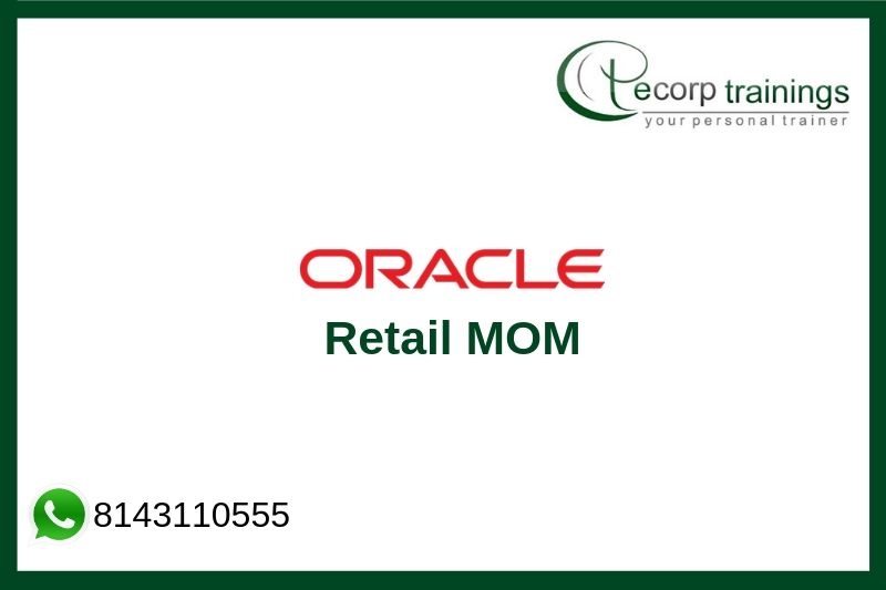 Oracle Retail MOM Training