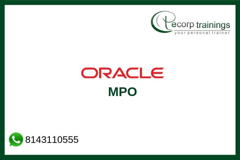 Oracle MPO Training