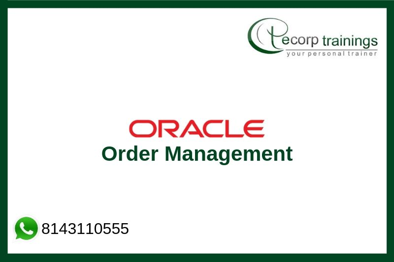 Oracle Order Management Training
