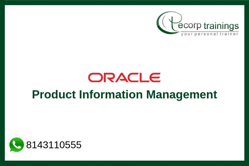 Oracle Product Information Management Training