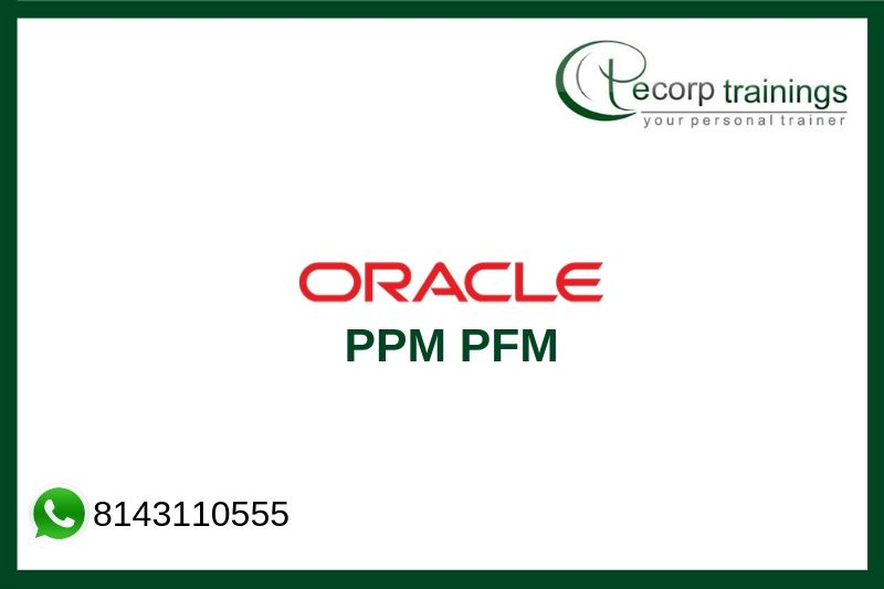 Oracle PPM Cloud Project Financial Management Training