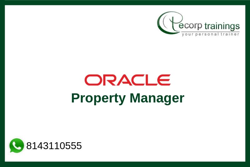 Oracle Property Manager Training