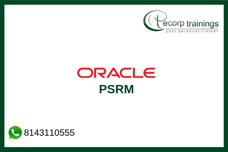 Oracle PSRM Training