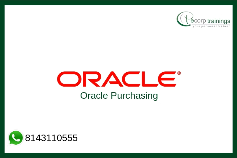 Oracle Purchasing Training