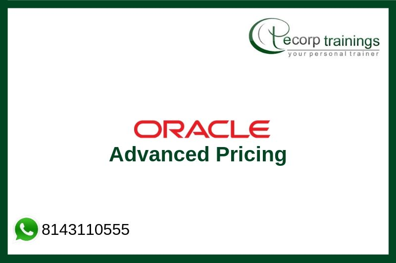 Oracle Advanced Pricing Training