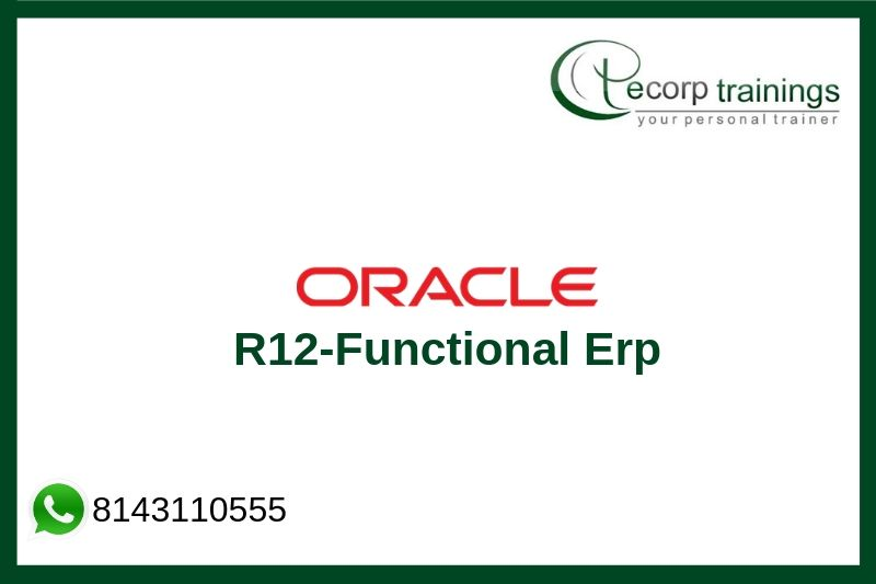 Oracle R12-Functional Erp Training