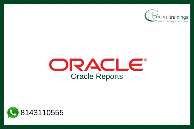 Oracle Reports Training