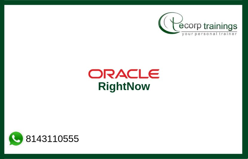 Oracle RightNow Training