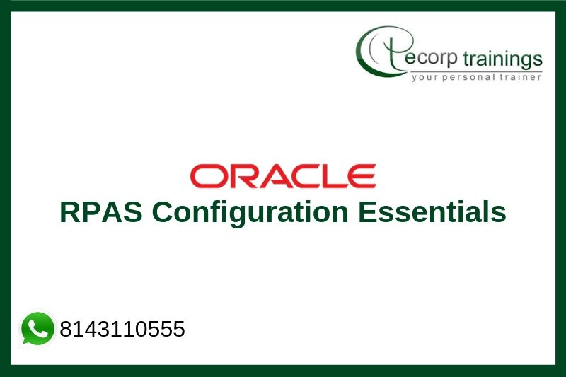 Oracle Retail Predictive Application Server Configuration Essentials Training