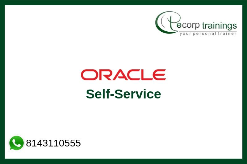 Oracle Self-Service Training