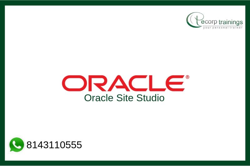 Oracle Site Studio Training