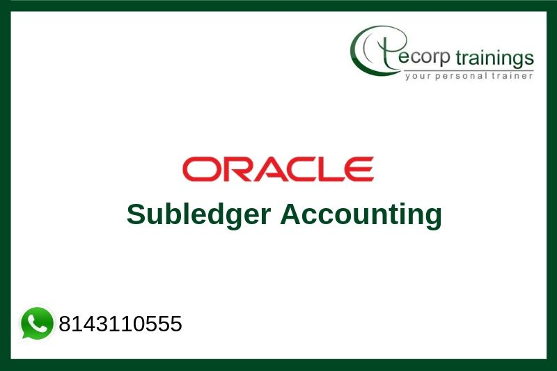Oracle Subledger Accounting Training