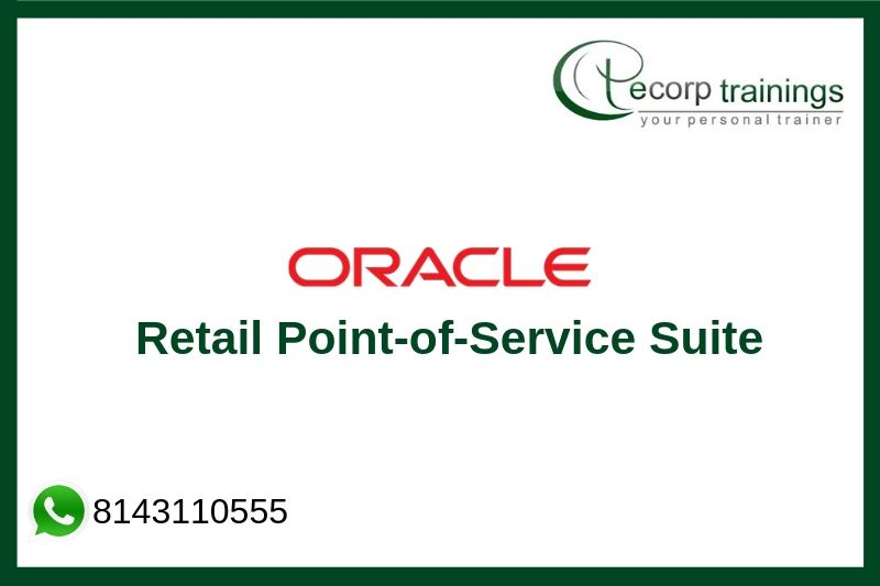 Oracle Retail Point-of-Service Suite Training