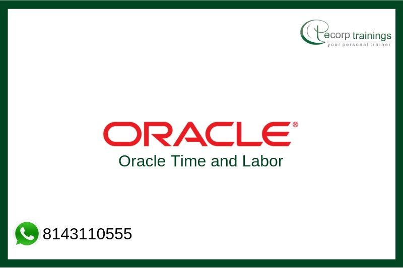 Oracle Time and Labor Training