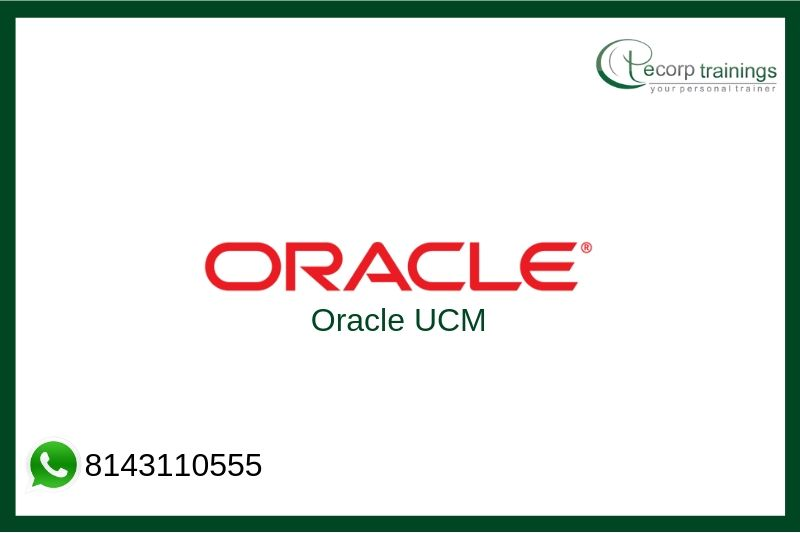 Oracle UCM Training