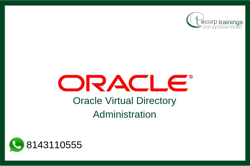 Oracle Virtual Directory Administration Training