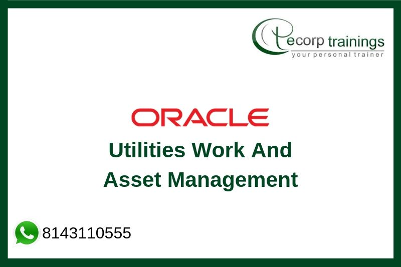 Oracle Utilities Work And Asset Management Training