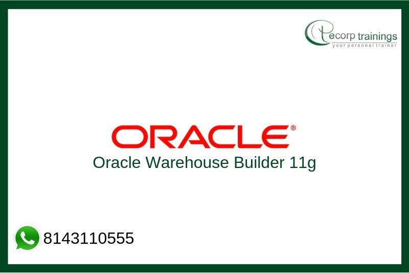 Oracle Warehouse Builder 11g Training