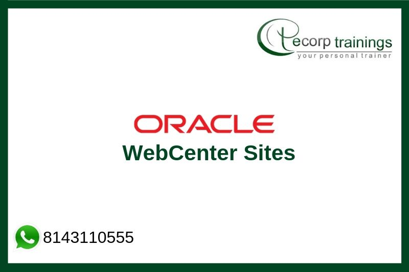 Oracle WebCenter Sites Training
