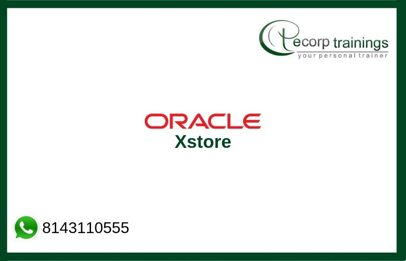 Oracle Xstore Training