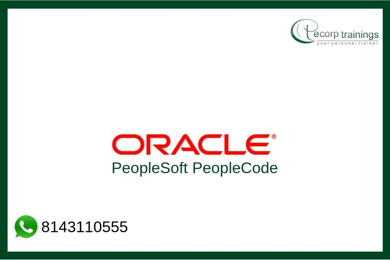 PeopleSoft PeopleCode Training