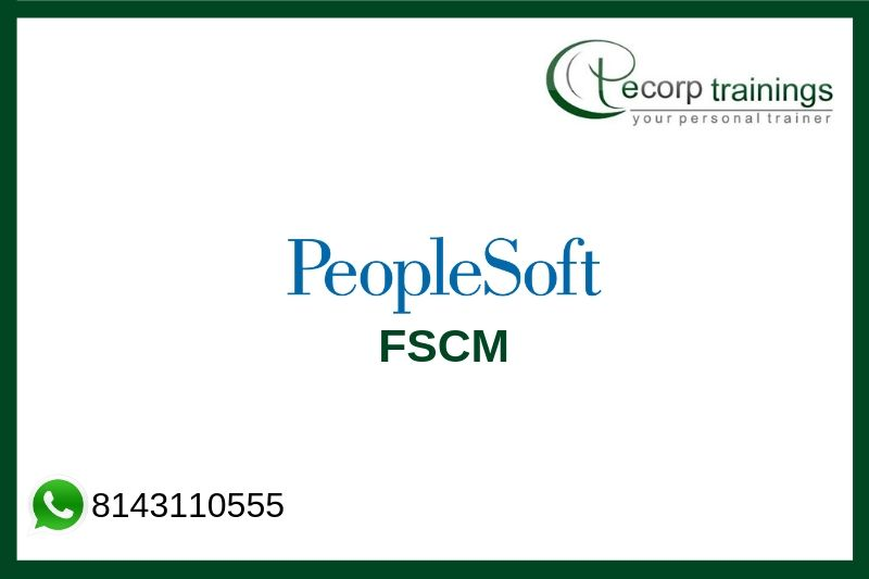 PeopleSoft FSCM Training
