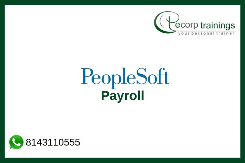 PeopleSoft Payroll Training