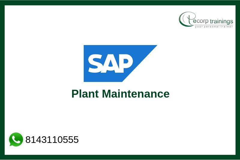 SAP Plant Maintenance Training