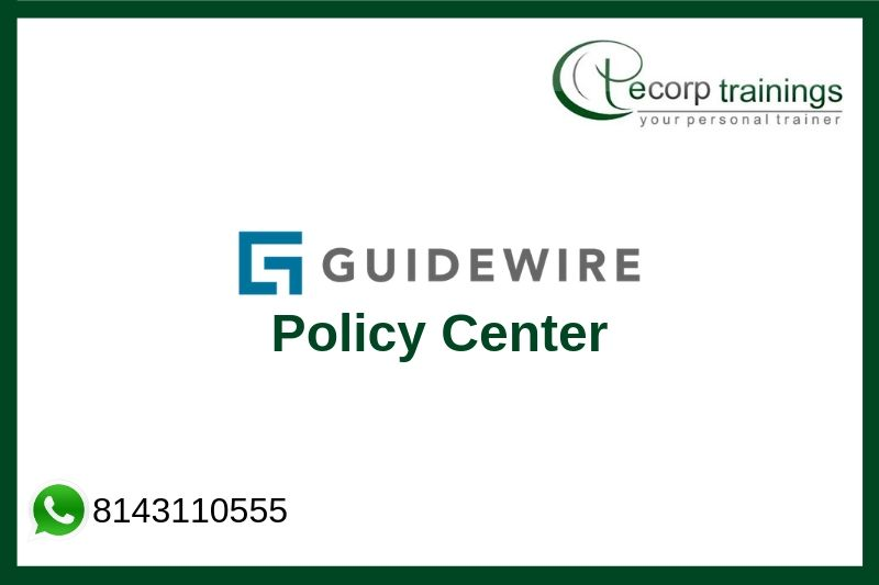 Guide wire Policy Center Training