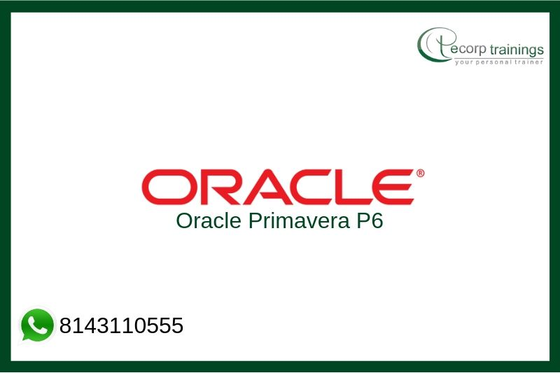 Oracle Primavera P6 Training